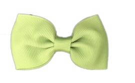 Haarstrik AppeltjesGroen - 6,5 cm - Kids-Ware