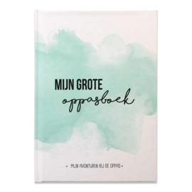 Mijn oppasboek - Mint