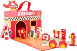 Speelset in koffer - Brandweer
