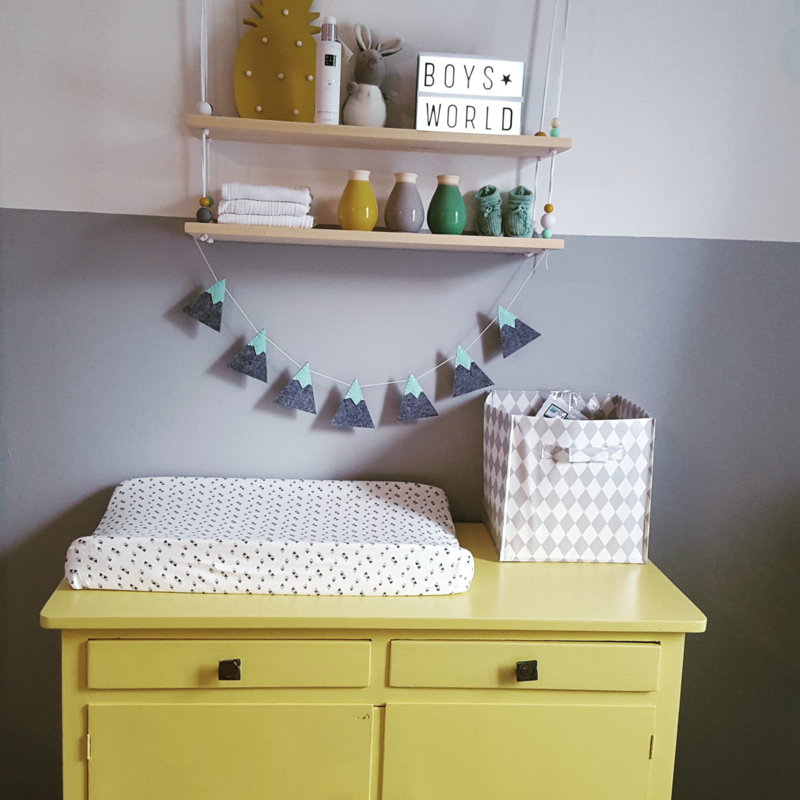 De babykamer van de kleine van Miranda