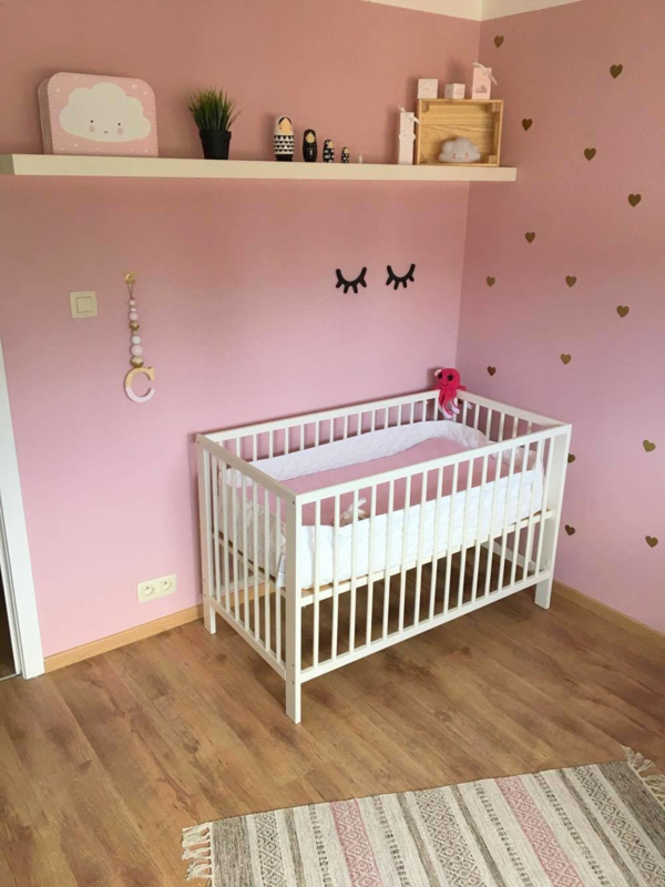 De babykamer van Paula haar dochter