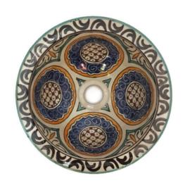 Marokkaanse waskom - 25 cm | Ibiza