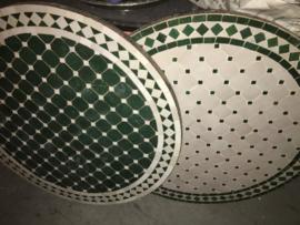 Mozaiek tafelbladen - 80 cm