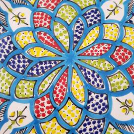 Bord turquoise blue - 28 cm