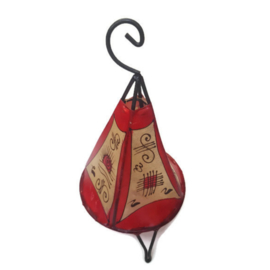 Hennalamp S - naturel/rood   alhambra