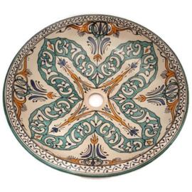 Marokkaanse wastafel - 50 cm | Ibiza