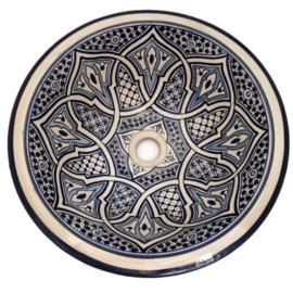 Marokkaanse waskom - 40 cm   Bahia