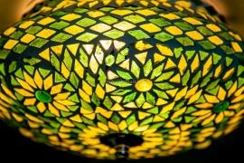 Plafonnière S - Glasmozaiek | groen