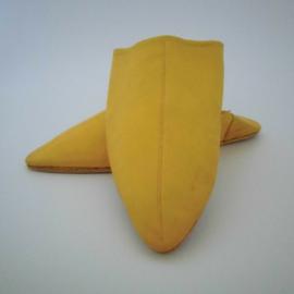 Marokkaanse puntsloffen - geel