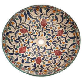 Marokkaanse wastafel - 50 cm | Warda