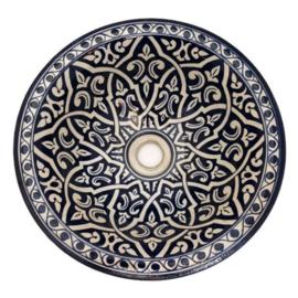 Marokkaanse waskom - 35 cm   Zina