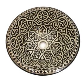 Marokkaanse waskom - 40 cm   Sahara