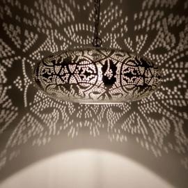 Hanglamp filigrain - ufo | vintage zilver