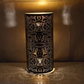Wandlamp filigrain | zwart goud
