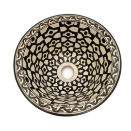 Marokkaanse waskom - 25 cm   Kasbah