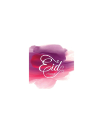 Wenskaart | Eid mubarak - pink