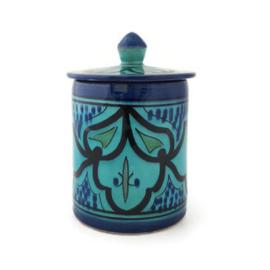 Voorraadpot - Turquoise