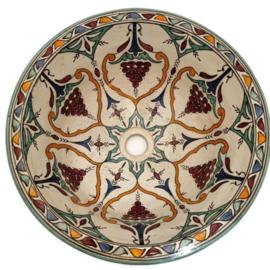 Marokkaanse waskom - 40 cm   Malaga