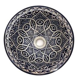 Marokkaanse waskom - 30 cm   Merzouga