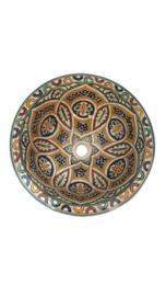Marokkaanse waskom - 35 cm | Fantasia