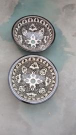 Marokkaanse waskom - 35 cm   Ethnic Chic