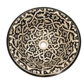 Marokkaanse waskom - 35 cm   Sahara