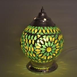 Tafellamp S - Glasmozaiek | groen