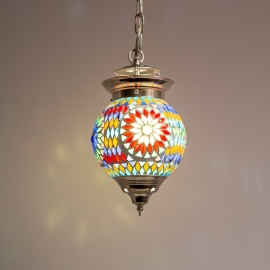 Hanglamp S - Glasmozaiek | multicolor