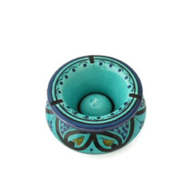 Asbak Safi S  - turquoise / aqua