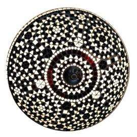 Plafonnière M - zwart wit ID