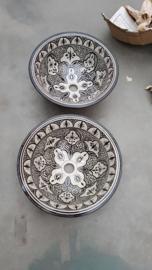 Marokkaanse waskom - 40 cm   Ethnic Chic