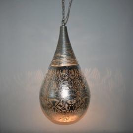 Hanglamp filigrain - wire | vintage zilver