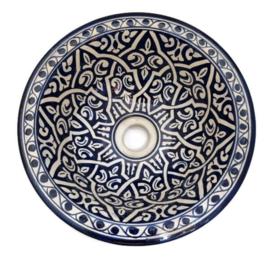 Marokkaanse waskom - 30 cm   Zina