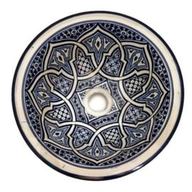 Marokkaanse waskom - 30 cm   Bahia