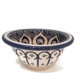 Marokkaanse waskom - 25 cm | Merzouga