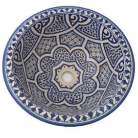 Marokkaanse waskom - 35 cm | Warda
