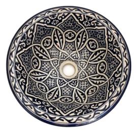 Marokkaanse waskom - 35 cm   Merzouga