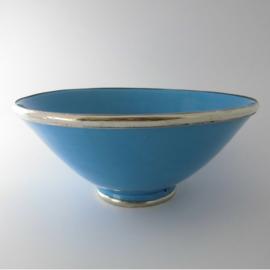 Saladeschaal - turquoise