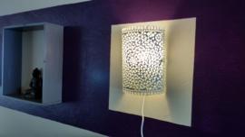 Mozaiek wandlamp...