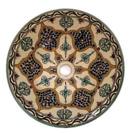 Marokkaanse waskom - 35 cm   Fantasia