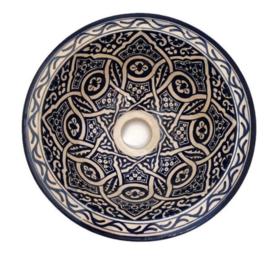 Marokkaanse waskom - 25 cm   Merzouga