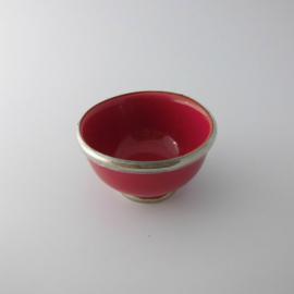 Schaaltje - rood | 8 cm