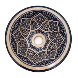 Marokkaanse waskom - 25 cm   Bahia