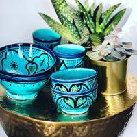 Schaal XS  - Essaouira blue