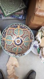 Marokkaanse waskom - 35 cm   Warda