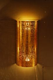 Wandlamp filigrain | vintage goud