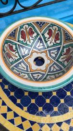 Marokkaanse waskom - 27 cm   Alhambra