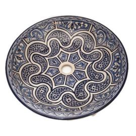 Marokkaanse wastafel - 50 cm | Alhambra