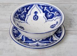 Fruitschaal - 25 cm | blue fond