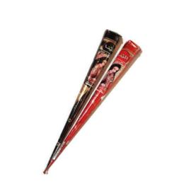 Henna voor tattoo - rood en zwart